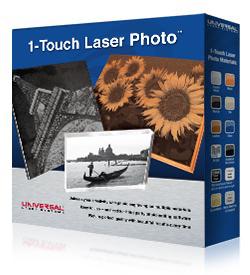 Laser indgraverings maskine